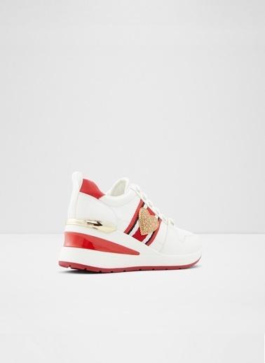 Aldo Zalle - Beyaz Kadin Sneaker Beyaz